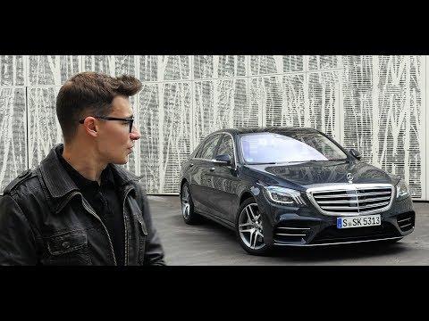 Mercedes_benz  S Class Седан класса F - тест-драйв 1