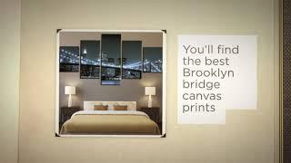 Brooklyn Bridge Canvas Prints - arts-decor.com