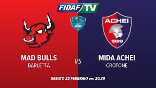 Mad Bulls Barletta vs. Mida Achei Crotone