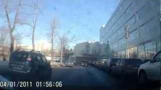 ДТП, снесло крышу!!! (Crash Test HONDA Civic 4D)