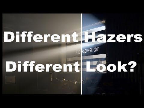 Does the hazer or fog machine you use matter?