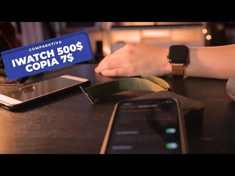 diferencias de reloj inteligente pirata vs originales APPLE WATCH