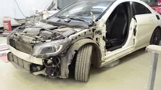 🔴 🚗 #Покраска #кузова Mercedes GLA