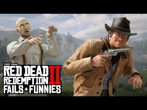 Red Dead Redemption 2 - Fails & Funnies #94