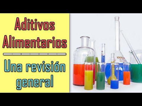Aditivos alimentarios - Una revisión general