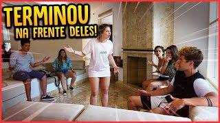 MINHA NAMORADA TERMINOU NA FRENTE DE TODOS!! - TROLLANDO REZENDE [ REZENDE EVIL ]