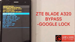How to Bypass FRP ZTE Z837VL TracFone | Google account - Thủ