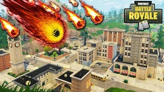 "TILTED TOWERS ""METEOR STORM"" HAS STARTED! NEW METEORS in the SKY! (Fortnite Battle Royale)"