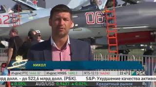 Авиашоу. Международный авиационно-космический салон. Россия