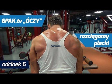Blok ćwiczeń nacisk na mięśnie pleców