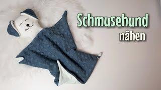 Schmusehund - Nähanleitung OHNE Schnittmuster - Für Anfänger - Nähtinchen