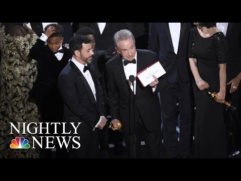 Stunning Oscars Mistake Seen 'Round The World: This Is How It Happened | NBC Nightly News