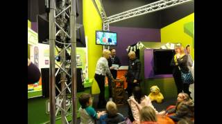 preview picture of video 'CLIP-02 The CBBC Interactive Tour at Media City UK, Salford, Manchester Clip 02 (19.02.2015)'
