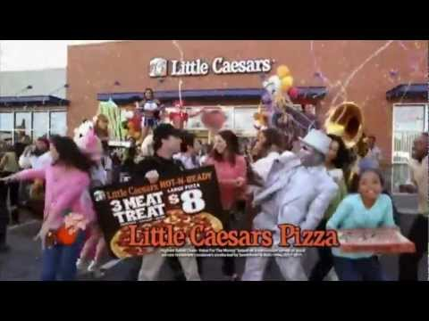 Little Caesars Pizza Commercial (2012) (Television Commercial)