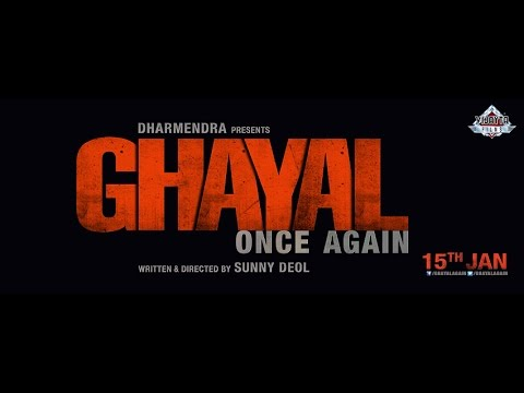 Ghayal Once Again Movie Trailer