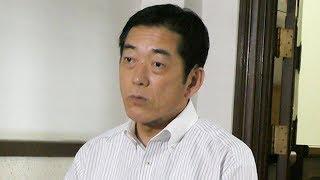 加計理事長の会見について語る中村時広・愛媛県知事