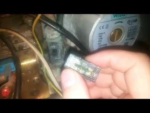 Ремонт датчика протока двухконтурного газового котла.