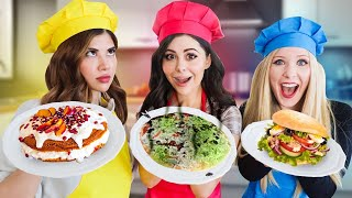 Cooking WITHOUT A RECIPE challenge - Azzyland Gloom & Brianna