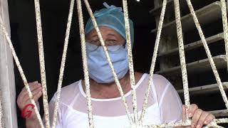 Enfermera cubana con experiencia ante la COVID-19