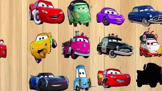 Disney Cars Mcqueen and Cars Pixar Funny Puzzle Games for Children   Learn Street Vehicles for Kids
