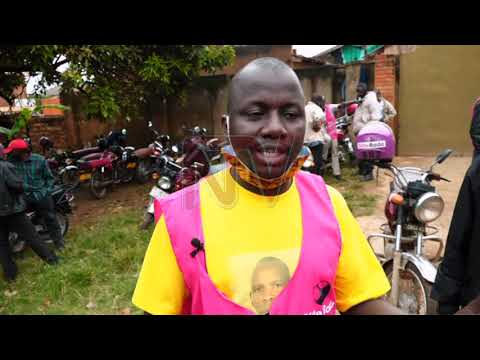 Aba boda-boda beekubidde enduulu eri Museveni