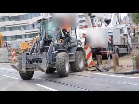 Achtung Baustelle Unfall Bob der Baumeister