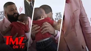 DJ Khaled Gets Puked On! | TMZ TV