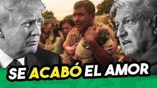 TRUMP enfurece y castiga a López Obrador por apoyar caravana de hondureños