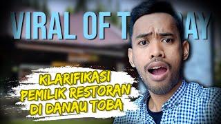 """Viral Hari Ini: Restoran di Danau Toba """"Pukul"""" Harga Jual Ikan Rp425 Ribu, Ini Klarifikasi Pemilik"""