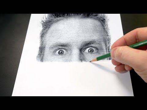 drawing like a printer by jazza