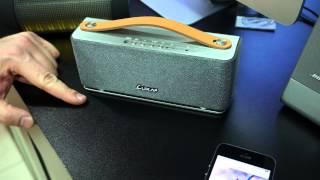 Обзор портативной акустической системы Luxa Groovy