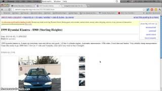 Craigslist Cars Under 1000 Dollars