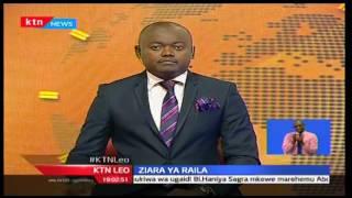 KTN Leo: Kiongozi wa ODM Raila azua kaunti ya Narok kuuza sera za chama, 29/09/2016