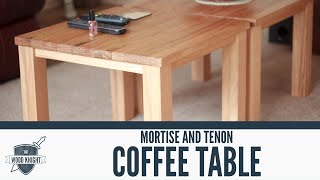 070 - Mortise and Tenon Coffee Table