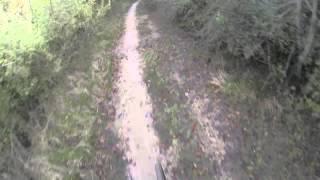 preview picture of video 'MTB a Roma - Giro del Cinghiale (Malagrotta, Maccarese, Castel di Guido) 08/12/2013'