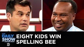 I Apologize for Talking While You Were Talking - Spelling Bee Tie & Obama's Ovation | The Daily Show