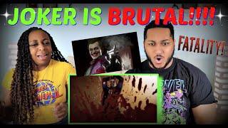 Mortal Kombat 11 The Joker Official Gameplay Trailer REACTION!!!
