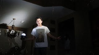 STAYING OVERNIGHT IN A HAUNTED HOUSE WITH NO POWER!! (this Happened..) | FaZe Rug