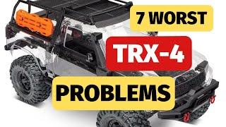 7 Worst Traxxas TRX4 Problems and How to Fix