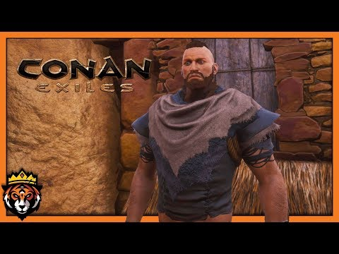 Building a Cave Base! (Conan Exiles Gameplay) #7