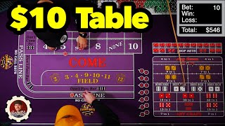 Some Popular Strategies to Help You Win at Craps ($10 Table)