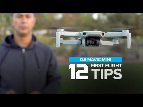 12 First Flight Tips - Mavic Mini Beginners Setup Guide Part 2 of 2