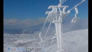 preview picture of video 'by: star 2000 tvاغنية يا جبل الشيخ  فيروز  وصور من الجولان من مجدل شمس'