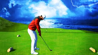 Playing in a RAIN STORM! PGA Tour 2K21