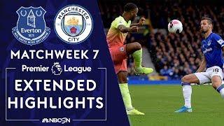 Everton v. Manchester City | PREMIER LEAGUE HIGHLIGHTS | 9/28/19 | NBC Sports