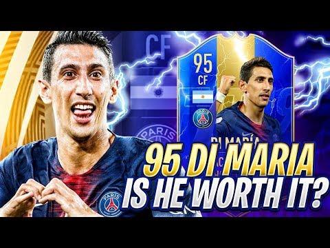 THE BEST SKILLER IN FIFA 19! 95 TOTS DI MARIA! FIFA 19 Ultimate Team