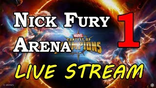 Nick Fury Arena - Part 1 | Marvel Contest of Champions Live Stream