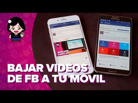 Cómo DESCARGAR VÍDEOS de FACEBOOK a tu MÓVIL - Tutorial en español