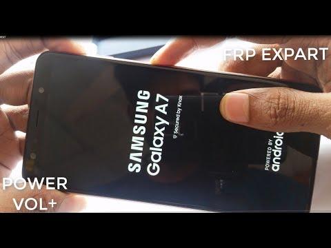 SM-A750F Hard Reset Samsung A7 2018 Hard Reset A750F Reset Lock