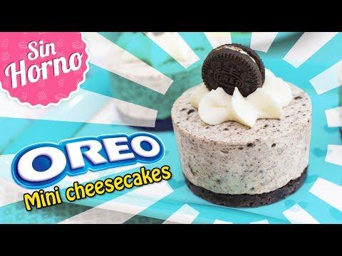 MINI CHEESECAKES DE OREO SIN HORNO   Quiero Cupcakes!